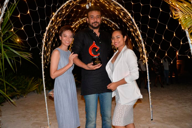 Centara Hotels and Resorts honours us for being the number one top seller for Maldives - 2017.