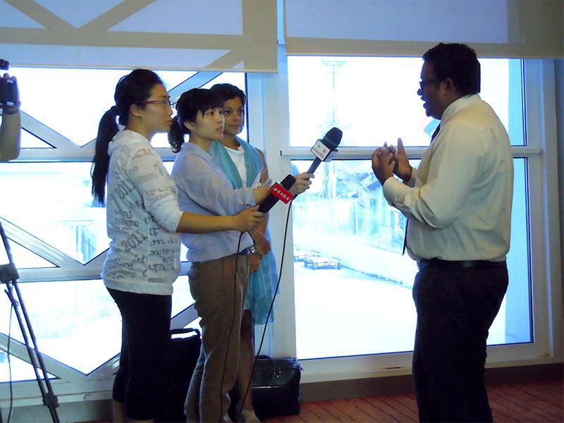 China Journalists visit to Maldives